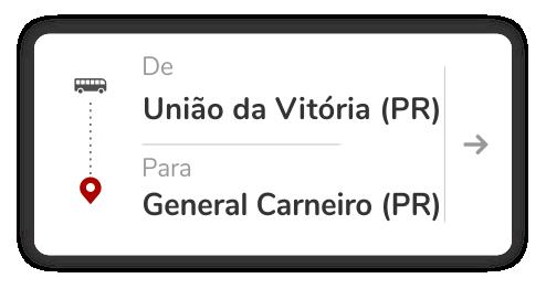 União da Vitória (PR) - General Carneiro (PR)