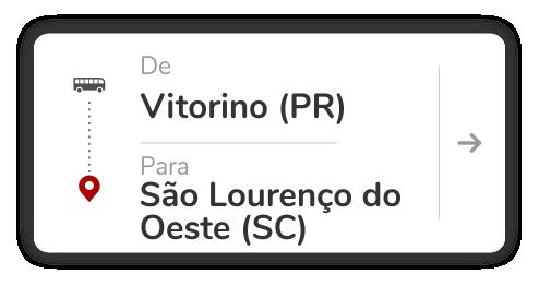 Vitorino (PR) - São Lourenço do Oeste (SC)
