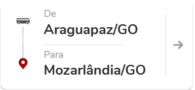 Araguapaz (GO) – Mozarlândia (GO)