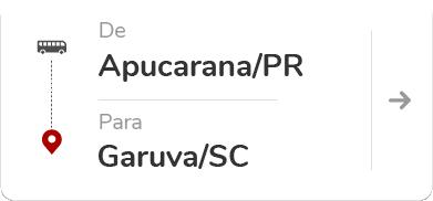 Apucarana (PR) – Garuva (SC)