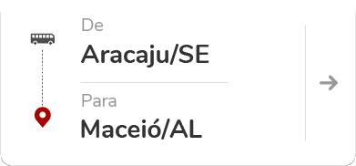 Aracaju (SE) para Maceió (AL)