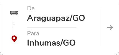 Araguapaz GO - Inhumas GO