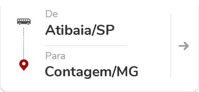 Atibaia (SP) para Contagem (MG)