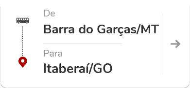 Barra do Garças - Itaberaí (GO)