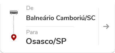 Balneário Camboriú (SC) – Osasco (SP)