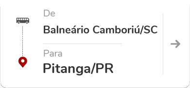 Balneário Camboriú (SC) – Pitanga (PR)