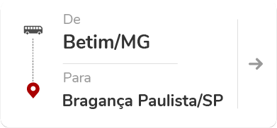 Betim (MG) para Bragança Paulista (SP)