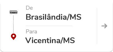 Brasilândia (MS) - Vicentina (MS)