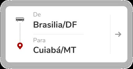 Brasilia DF - Cuiaba MT