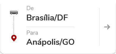 Brasília DF - Anápolis GO