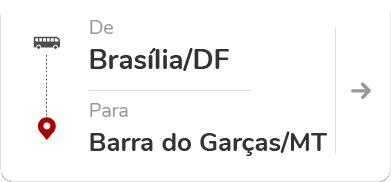 BRASÍLIA (DF) - BARRA DO GARCAS (MT)