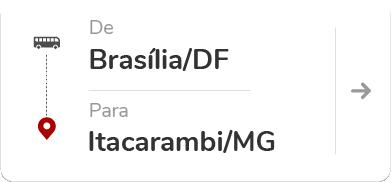 Brasília (DF) para Itacarambi (MG)
