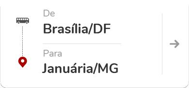 Brasília (DF) para Januária (MG)