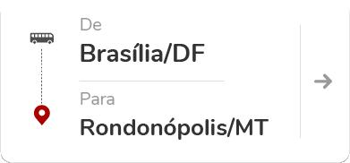 Brasília DF - Rondonópolis MT
