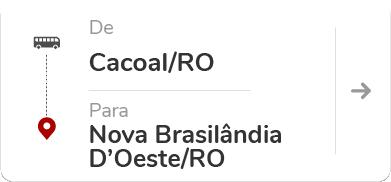 Cacoal RO - Nova Brasilândia D'Oeste RO