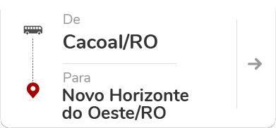 Cacoal (RO) – Novo Horizonte do Oeste (RO)