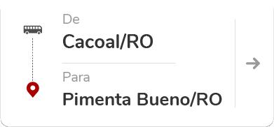Cacoal (RO) – Pimenta Bueno (RO)