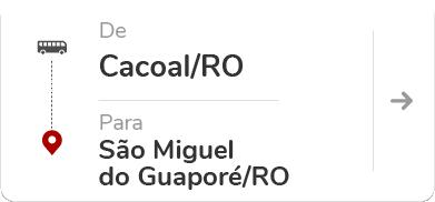 Cacoal (RO) - São Miguel do Guaporé (RO)