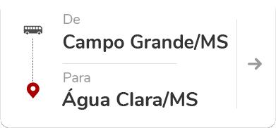 Campo Grande (MS) - Água Clara (MS)