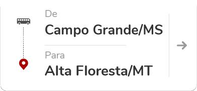 Campo Grande MS - Alta Floresta MT