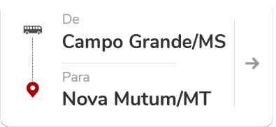 Campo Grande (MS) – Nova Mutum (MT)
