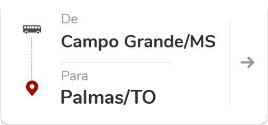 Campo Grande MS - Palmas TO