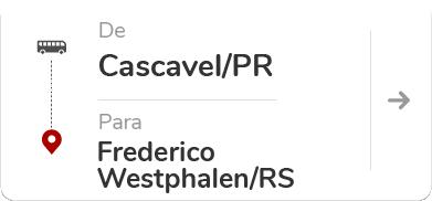 Cascavel PR - Frederico Westphalen RS
