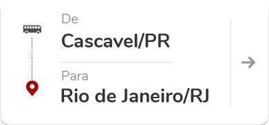 Cascavel PR - Rio de Janeiro RJ