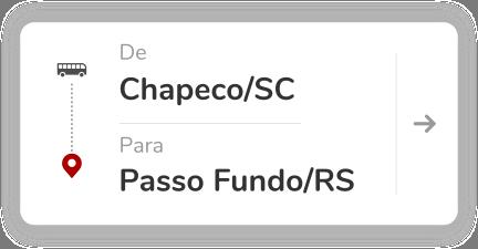 Chapeco SC - Passso Fundo RS