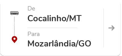 Cocalinho (MT) – Mozarlândia (GO)