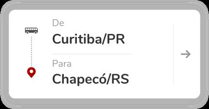 Curitiba PR - Chapeco SC