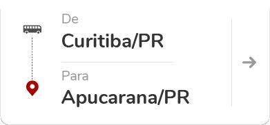 Curitiba PR - Apucarana PR