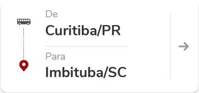 Curitiba PR - Imbituba SC