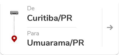 Curitiba PR - Umuarama PR