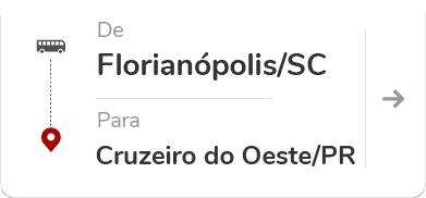 Florianópolis (SC) – Cruzeiro do Oeste (PR)