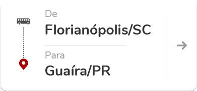 Florianópolis SC - Guaíra PR