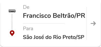 Francisco Beltrão PR - São José do Rio Preto SP