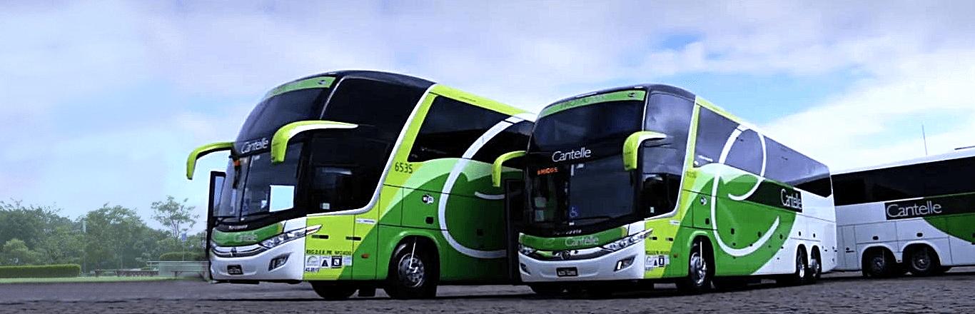 Frota Ônibus Cantelle