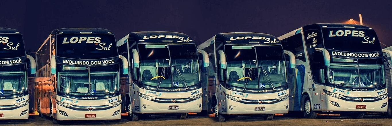 Frota Ônibus Lopes Sul