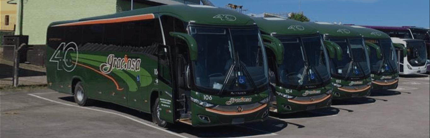 Frota ônibus Graciosa