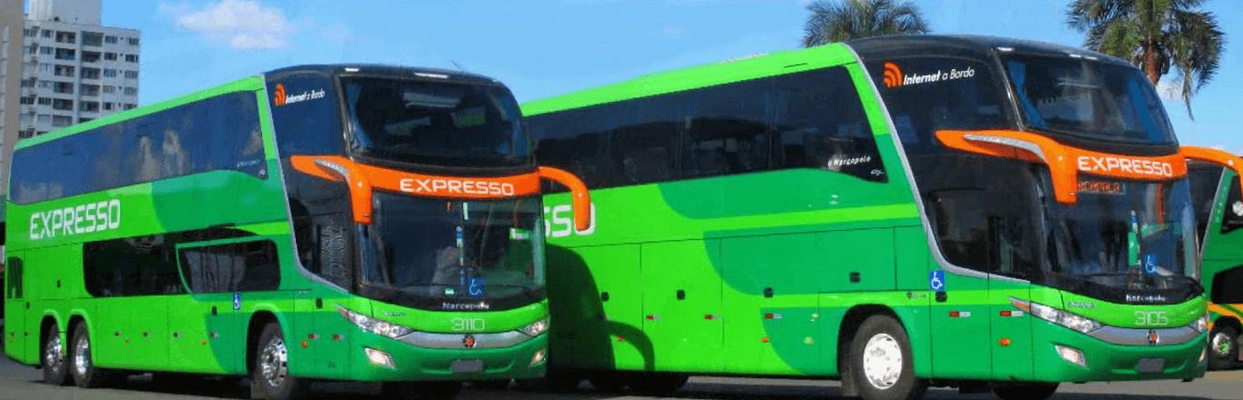 Frota de ônibus Expresso