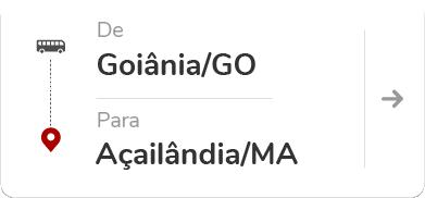 Goiânia (GO) - Açailândia (MA)