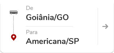 Goiânia GO - Americana SP
