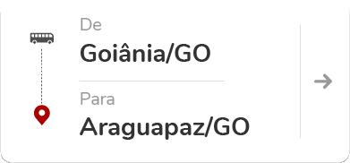 Goiânia GO - Araguapaz GO