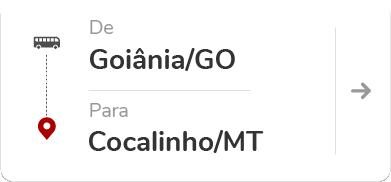 Goiânia (GO) – Cocalinho (MT)