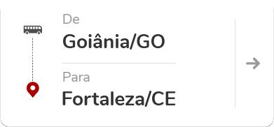 Goiânia (GO) para Fortaleza (CE)