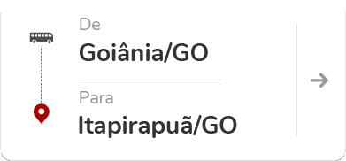 Goiânia GO - Itapirapuã GO