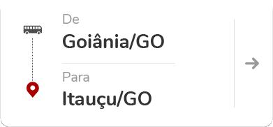 Goiânia GO - Itauçu GO