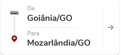 Goiânia (GO) – Mozarlândia (GO)