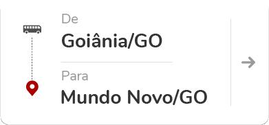 Goiânia (GO) – Mundo Novo (GO)